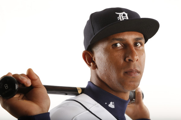 anthony gose detroit tigets hot shot 2015 baseball