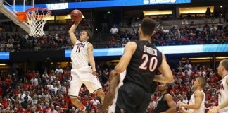 arizona vs wisconsin march madness 2015
