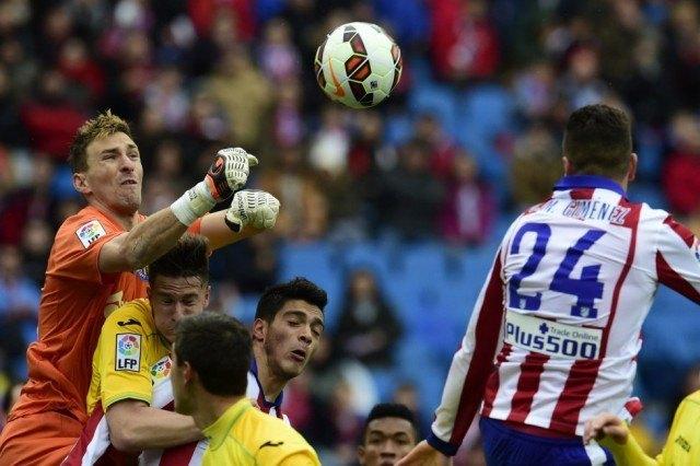 atletico madrid beats getafe la liga 2015