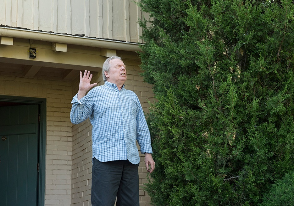 better call saul 107 chuck taking in sunlight 2015