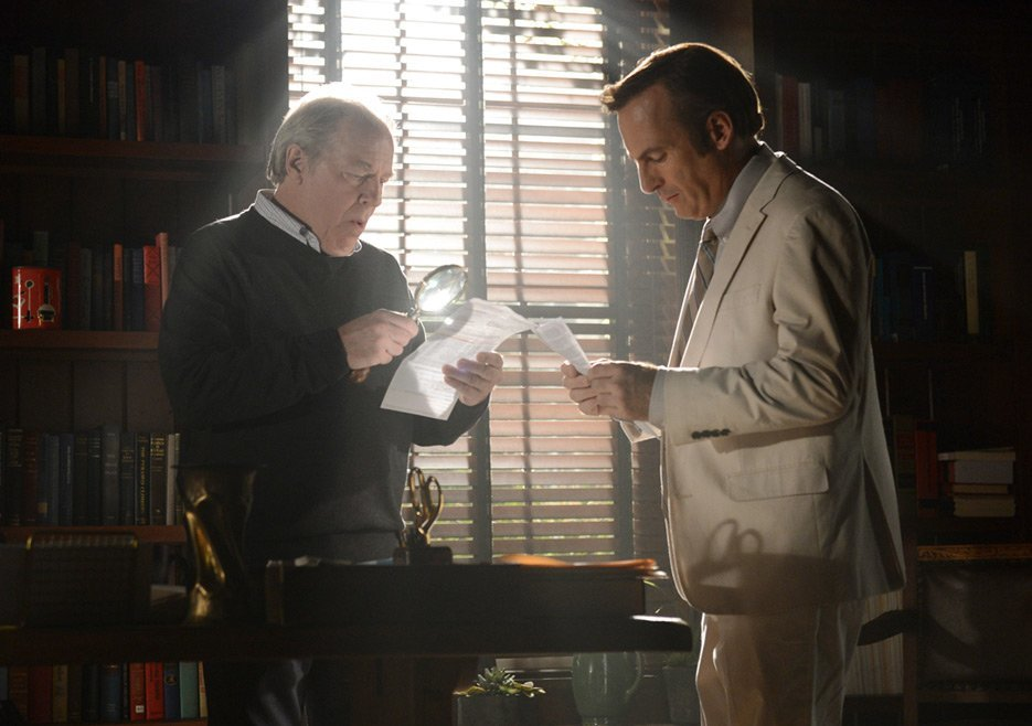better call saul jimmy rico with chuck 2015