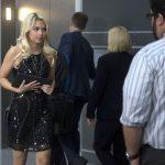 blonde girl on csi cyber in dress 2015