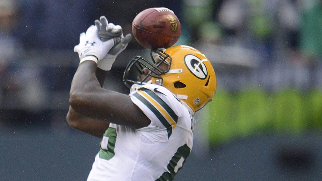 brandon bostick football nfl blunder green bay packers 2015