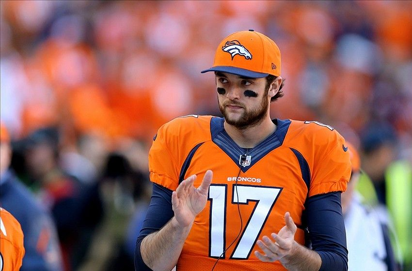 brock osweiler replacing peyton manning for denver brocos 2015 nfl