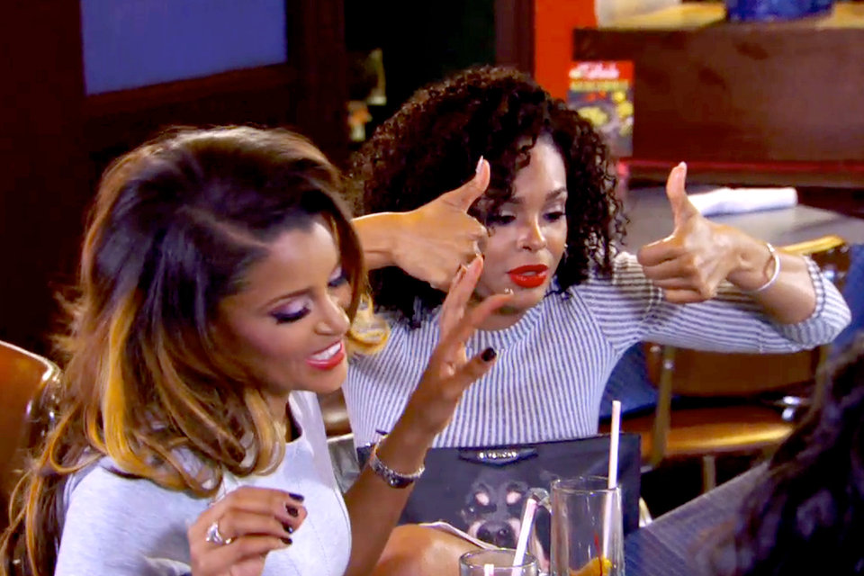 claudia ready for nene leakes group scene on real housewives of atlanta 2015
