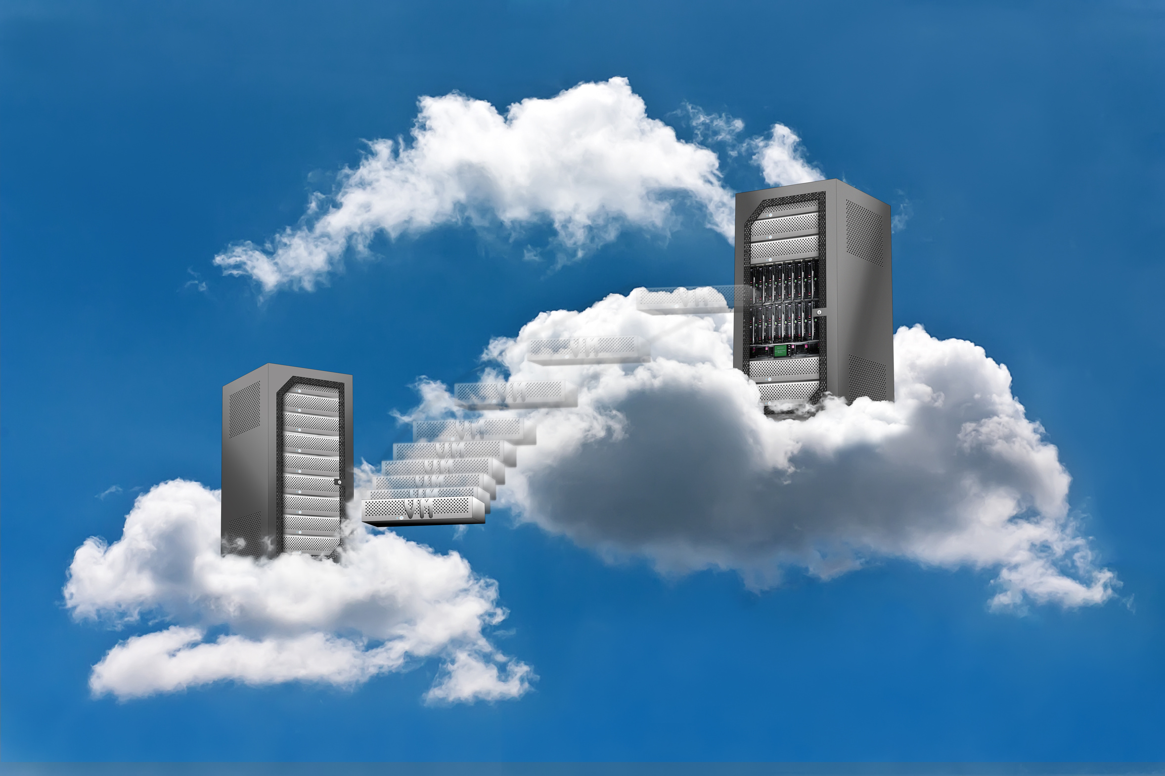 Cloud Computing – Virtual Machine Motion