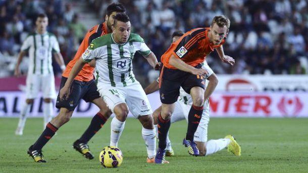 cordoba loses to real sociedad la liga 2015