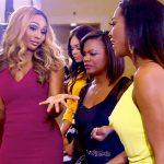 cynthia kendra and kandi at peters award show real housewives of atlanta 2015