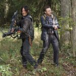 daryl dry working aaron bulge on walking dead 515 try 2015