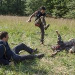 daryl saves aaron from gay walkers walking dead forget 2015