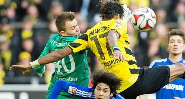 dortmund beats schalke soccer 2015