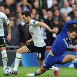 eden hazard groin pull for chelsea vs tottenham 2015