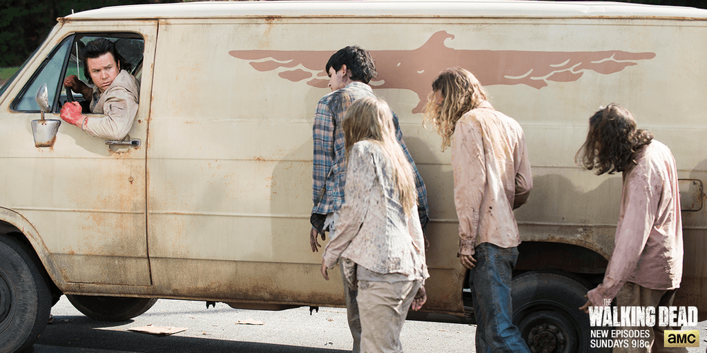 walking dead season 5 ep 14 spend images eugene carol rick 2015