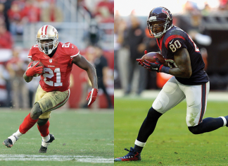 frank gore with andre johnson return with indianpolis colts nfl 2015