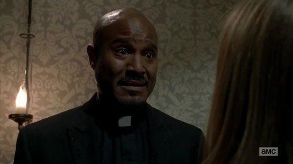 gabrille telling deanne not to trust rick walking dead 2015