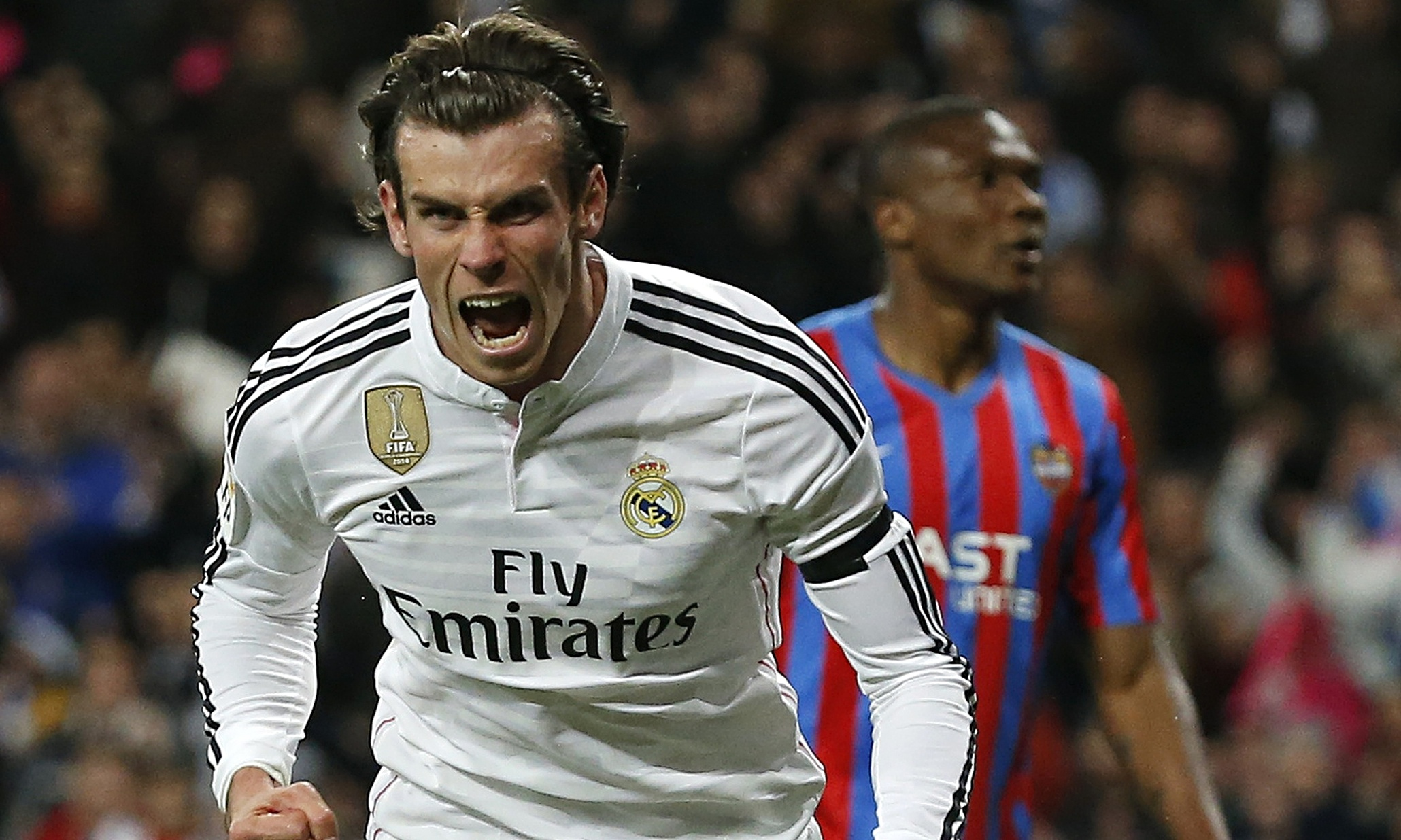 Gareth Bale bring real madrid to win la liga 2015 soccer