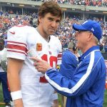 giants eli manning wtih coach tom coughlin nfl 2015