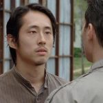 glenn dukes it out with adrian on walking dead