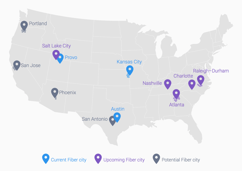 google fiber cities to come 2015