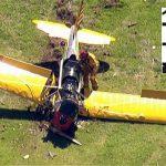 harrison ford plane crash landing 2015