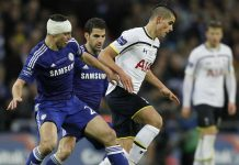 head wounds for chelsea vs tottenham cup soccer 2015