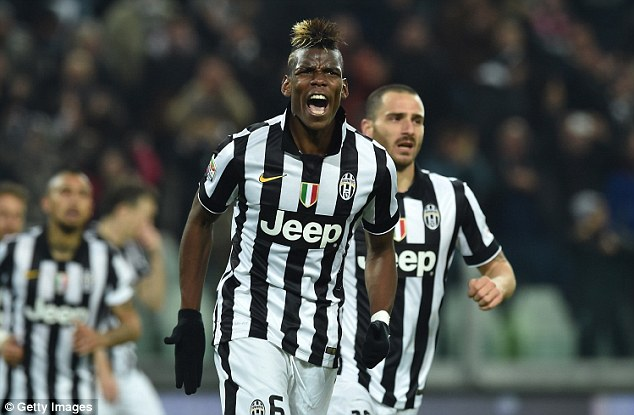 italian serie a paul pogba gets week 26 soccer review images