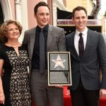 jim parsons with boyfriend for hollywood walk of fame 2015 gossip