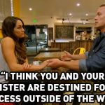 john cena pushes nikki out of wwe total divas for freedom 2015