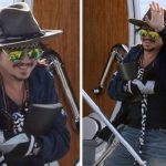 johnny depp pirates of caribbean hand injury