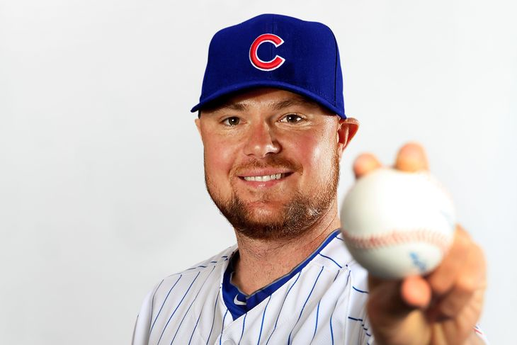 jon lester joins chicago cubs cactus league 2015