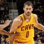 kevin love working nba cleveland cavaliers 2015