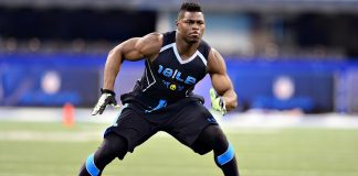 khalil mack defensive end for oakland raiders taying 2015
