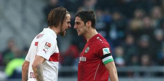 lars stindl martin harnik soccer fight 2015 images