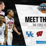 march madness top four 2015 sweet 16