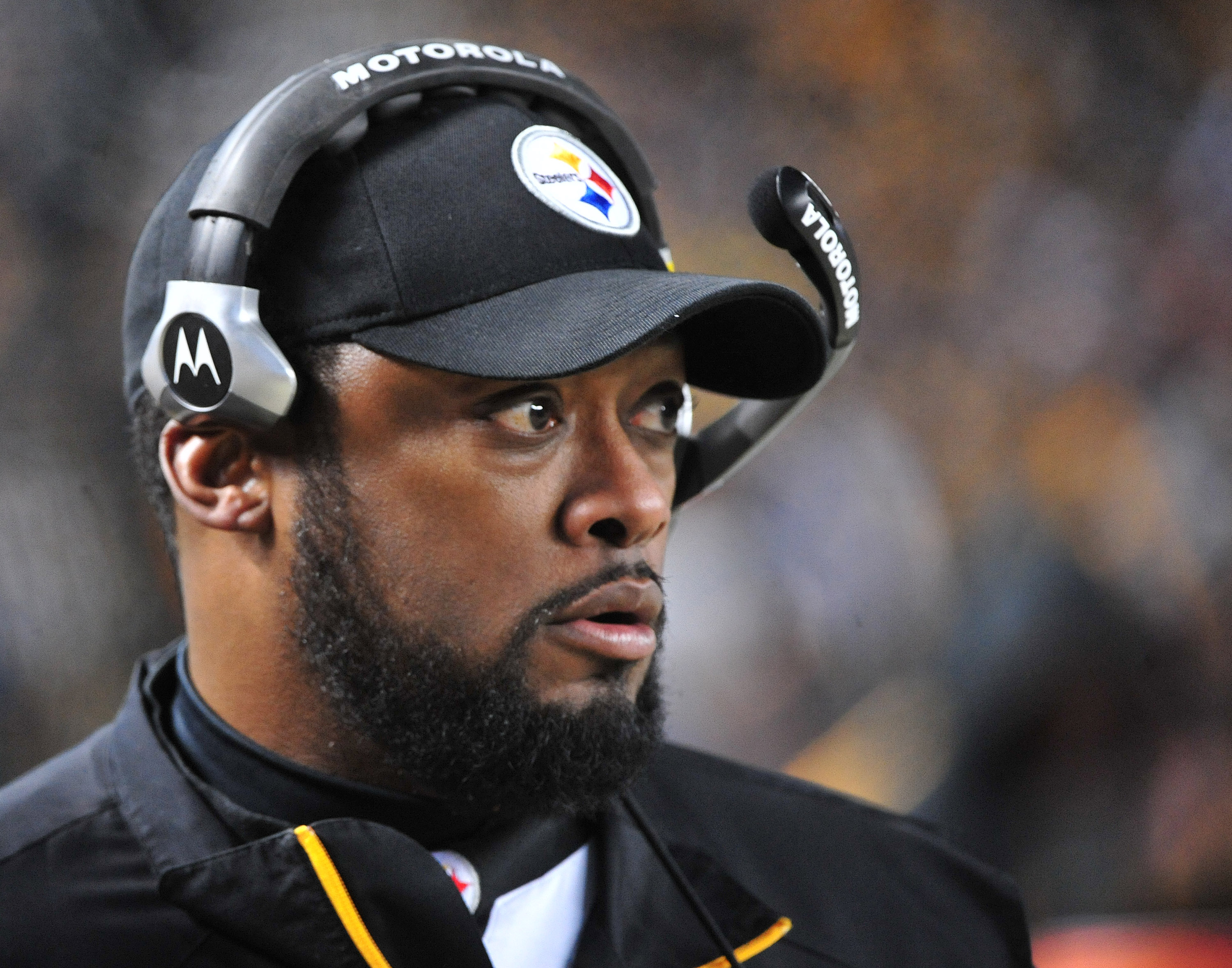 Steelers' head coach Mike Tomlin in Pittsburgh