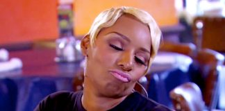 nene leakes face problems on real housewives of atlanta 2015