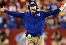 new york giants outgoing head coach tom coughlin 2015 images