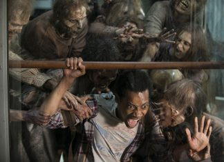 noah eaten by zombies in walking dead for glenn spend 2015 images