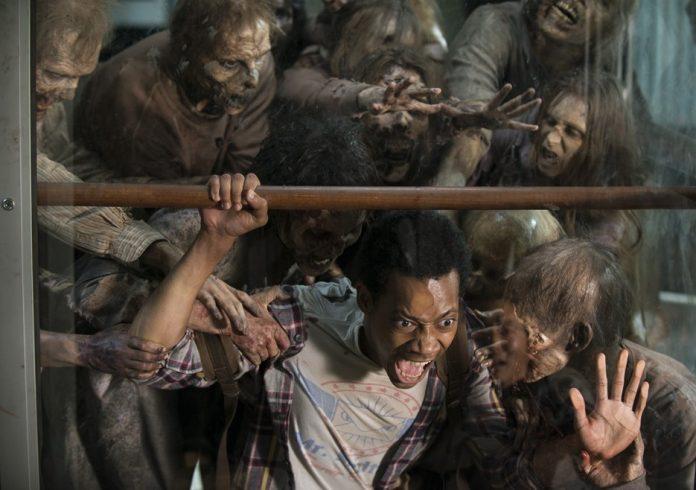 noah eaten by zombies in walking dead for glenn spend 2015 images