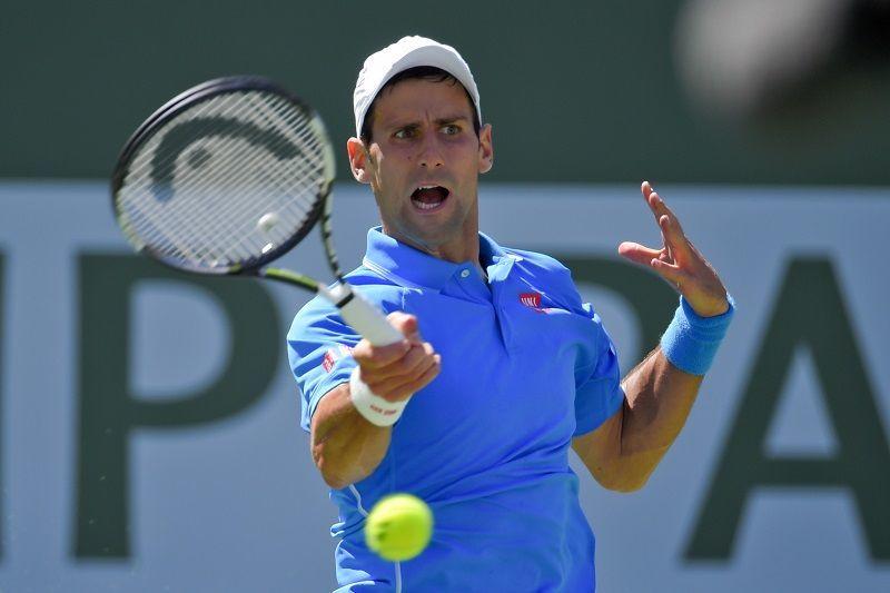 Novak Djokovic beats any murray indian wells 2015