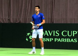 novak djokovic in davis cup 2015