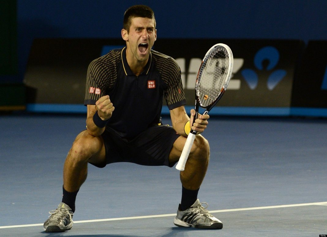 novak djokovic learns what tennis veteran is 2015