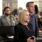 patricia arquette with james van der beek in csy cyber 2015