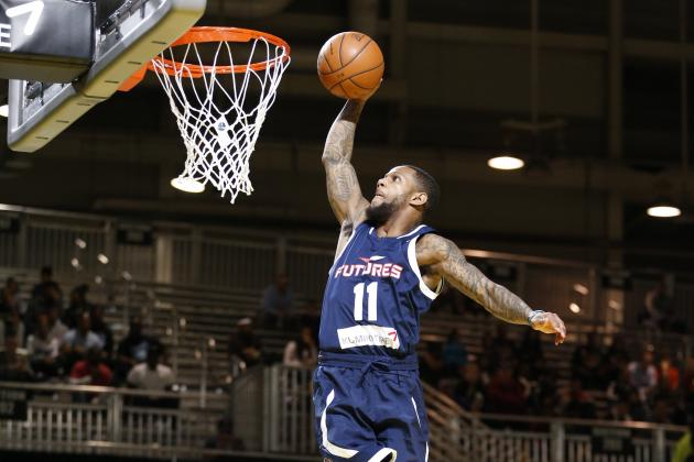 pierre jackson slamming nba balls on court basketball 2015