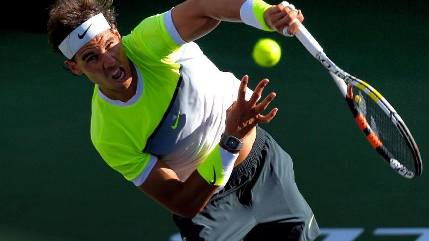 rafael nadal loses to milos ronic indian wells 2015