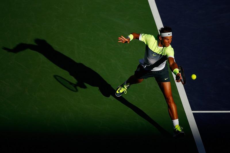 indian well tennis with novak djokovic