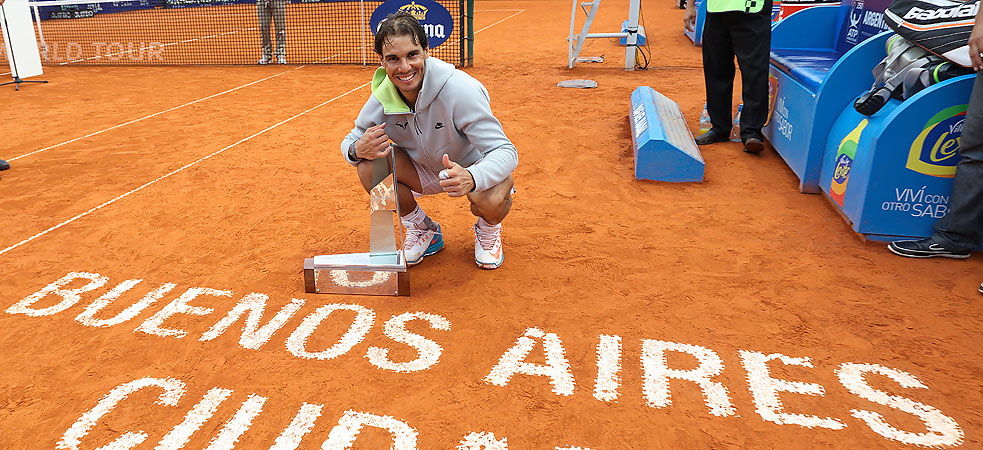 rafael nadal wins title argentina open 2015 images
