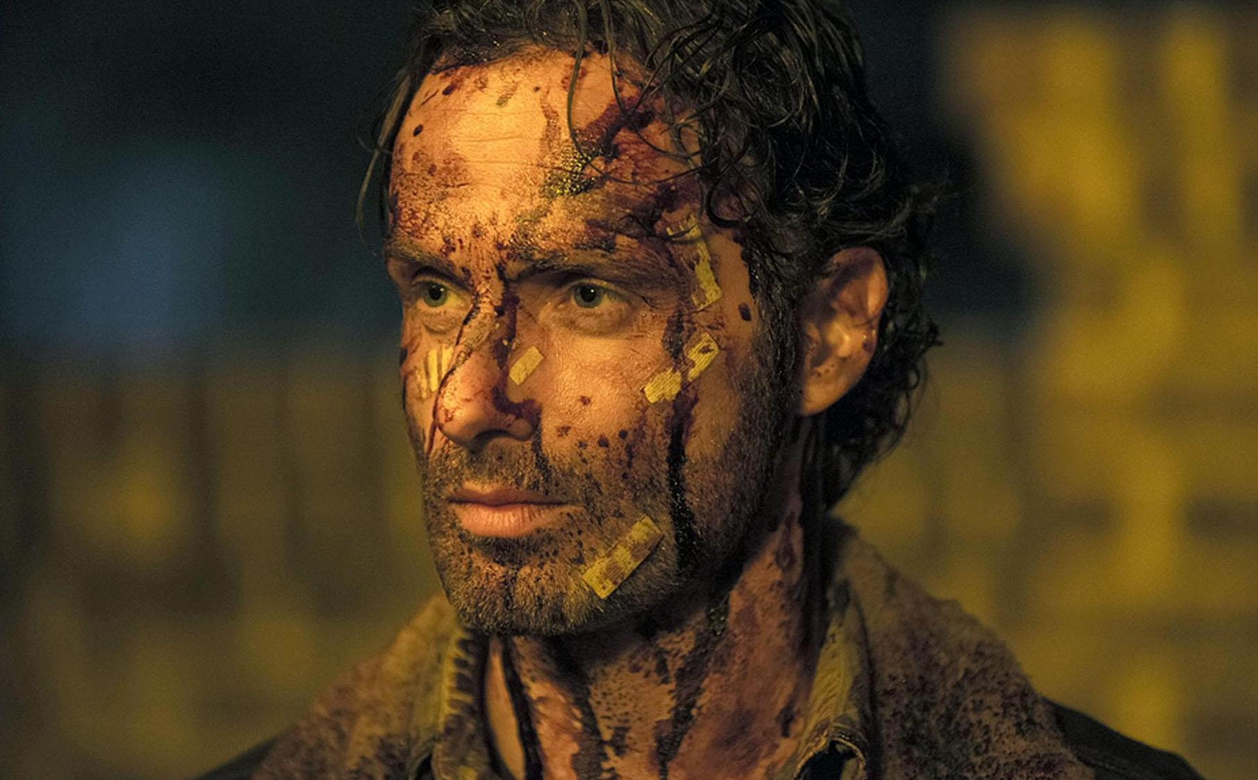 rick grimes the walking dead season 5 box set