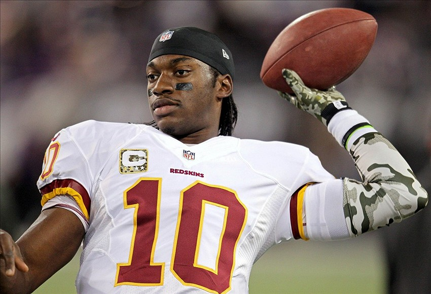 robert griffin iii sucks but redskins like him 2015
