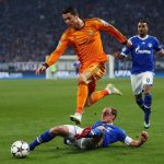 ronaldo working real madrid to beat schalke 2015